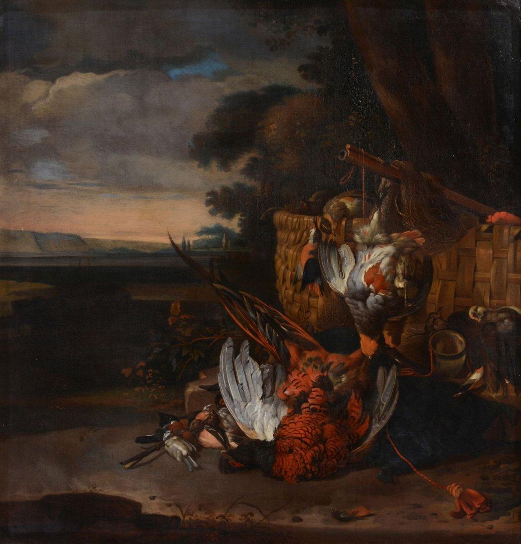 Circle of Jan Weenix (1640-1719) - Still life of a