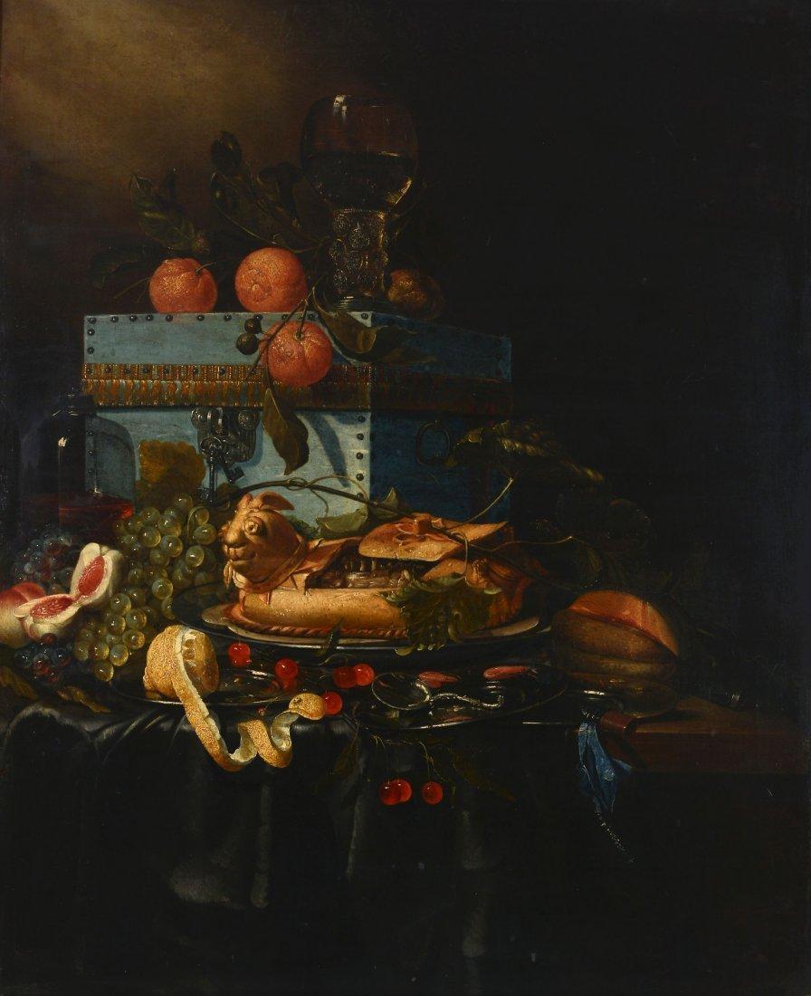 Follower of Pieter de Ring (1615-1660) - Grapes,