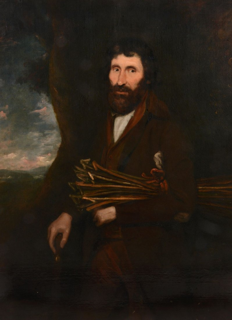 Thomas Barker of Bath (1769-1847) - The Stick Gatherer