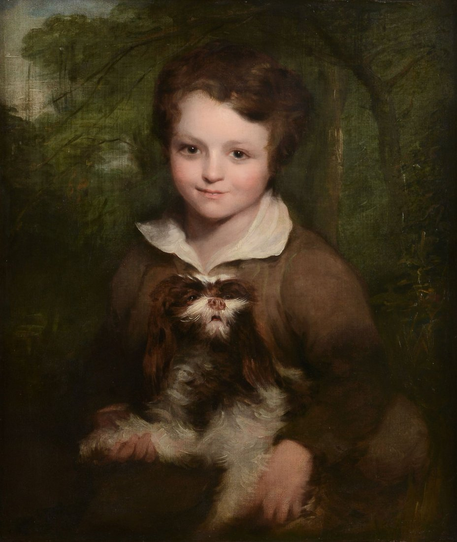 Richard Rothwell (1800-1868) - Portrait of a young boy