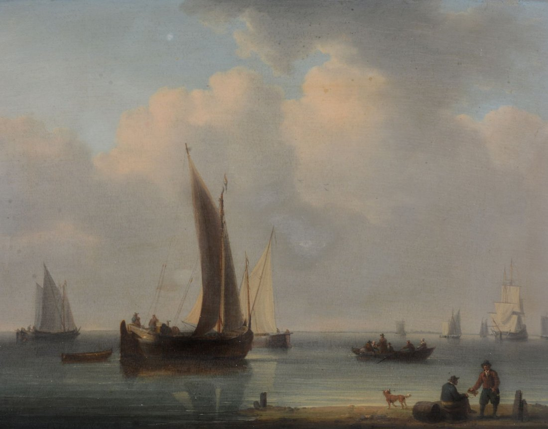 William Anderson (1757-1837) - Peaceful sailing