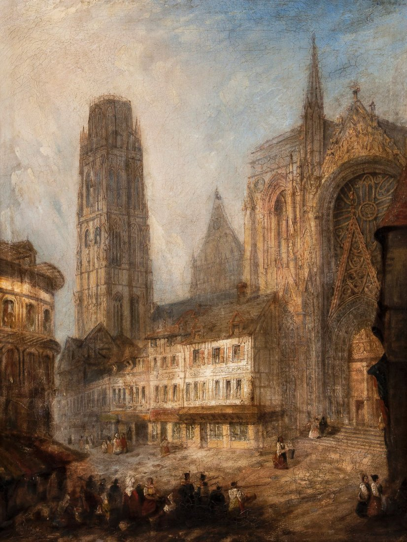 Thomas Physick (fl. 1830-1850) - Rouen Cathedral