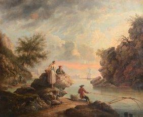 Manner Of Claude Joseph Vernet (1714-1789) - A