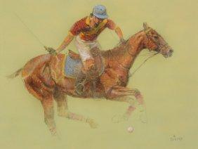 Enrique Castro (b.1938) - In Full Swing; The Backhand;