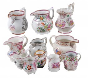 A Miscellaneous Selection Of British Pottery Jugs