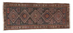 A Shiraz Runner, Together With Two Further Persian