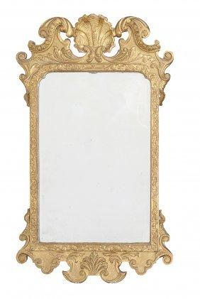 A George Ii Giltwood Pier Mirror , Circa 1740
