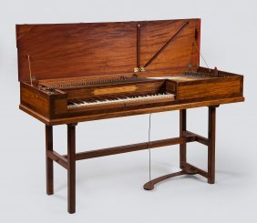 A Square Piano By Adam Beyer, London, 1777 , The Case