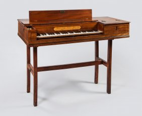 A Square Piano By Johann Christoph Zumpe & Gabriel