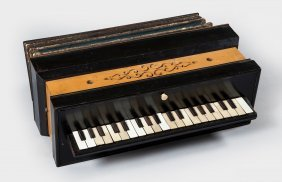 A Piano Accordion, Probably French, Circa 1850, The