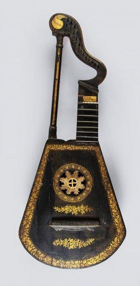 A Harp Lute By Edward Light, London, Circa 1820