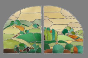 Sarianne Durie: Three Stained And Lead Glass Windows ,