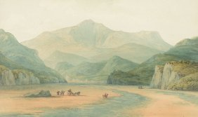 John Warwick Smith (1749-1831) - Snowdon As It Appears
