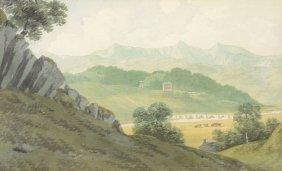 John Warwick Smith (1749-1831) - Llanelltyd Bridge