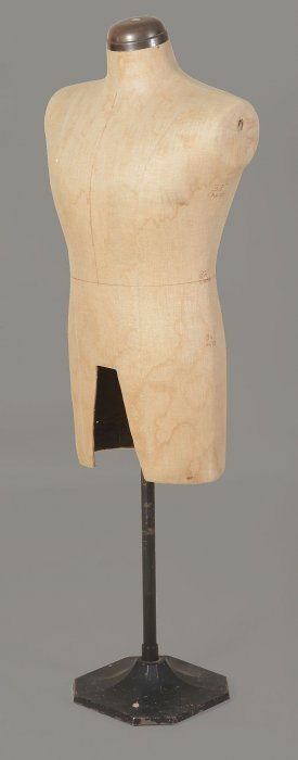 A Tailor's Mannequin, Late 19th/early 20th Century