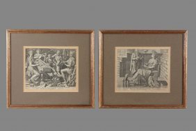Cornelis Cort (1533-1578) - Seven Liberal Arts