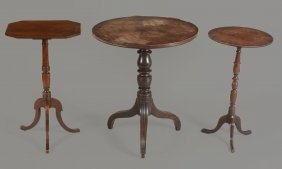 A George Iv Provincial Tripod Side Table , Circa 1825,
