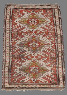 A Kazak Carpet, Approximately 150cm X 270cm