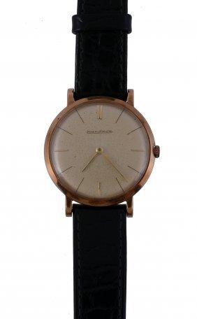 Jaeger Lecoultre, Ref. 8623, A 9 Carat Gold Wristwatch,