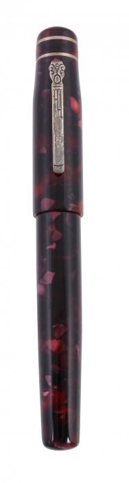 Marlen, Ulysses, A Burgundy Marbled Fountain Pen