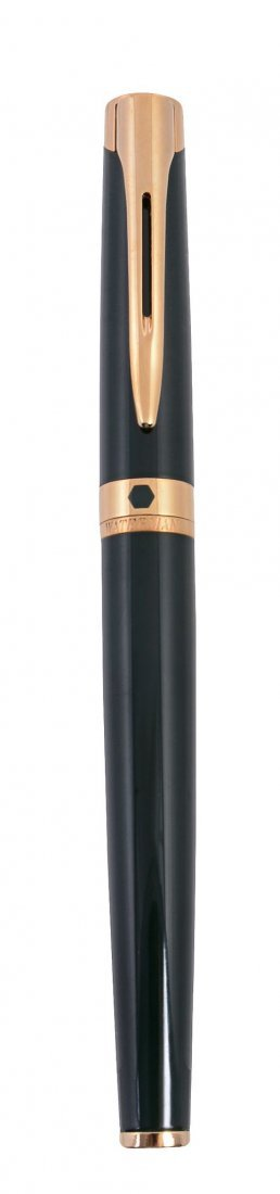 Waterman, L'Etalon, a green lacquer fountain pen