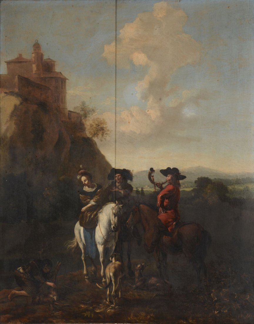 Follower of Philips Wouwerman (1619 - 1668) -