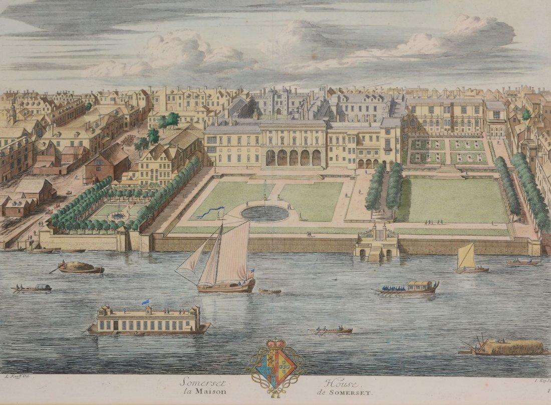 After Leonard Knyff (1650-1722) - Somerset House