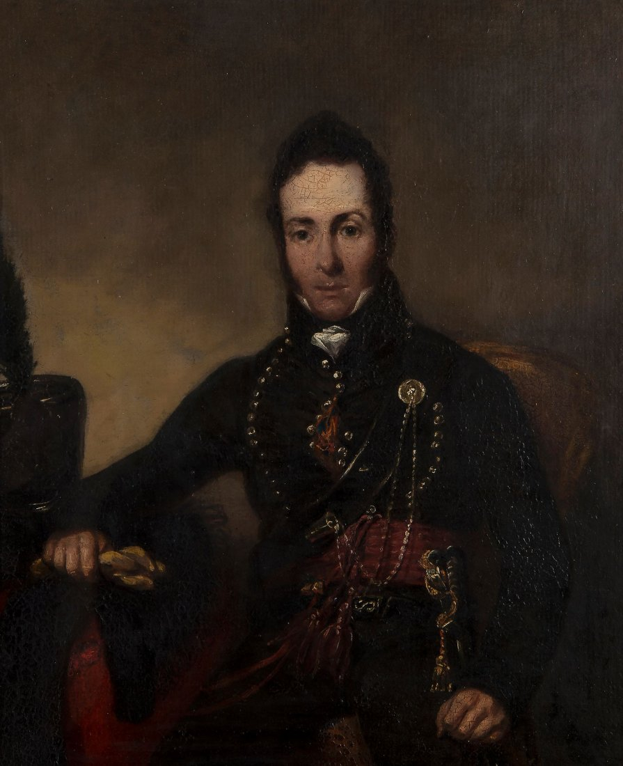 Attributed to Raphael Lamar West (1769-1850) - Portrait