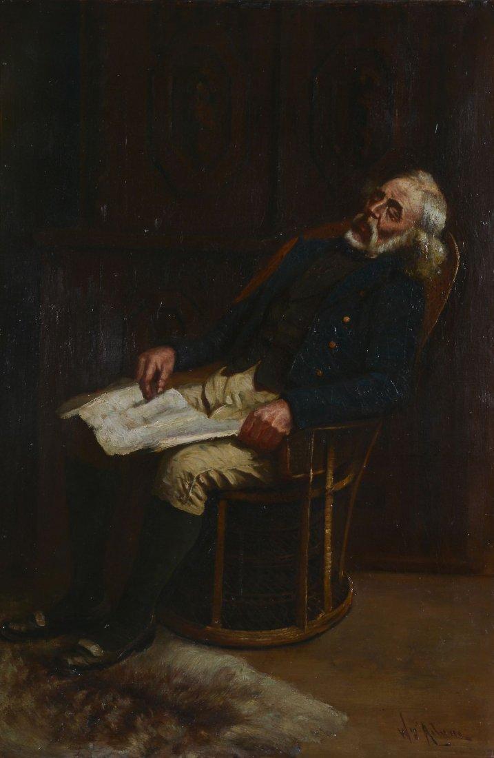 William Constable Adam (1846 - 1931) - Sleeping man