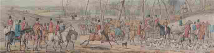 After Thomas Henry Alken - A set of four fox hunting