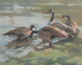Janet Hammond (20th Century) - Sunrise At The Waters