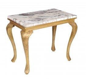 A George Ii Giltwood Side Table , Circa 1740