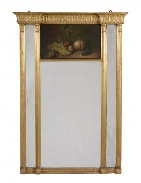 A Regency Giltwood And Composition Mirror , Circa 1815
