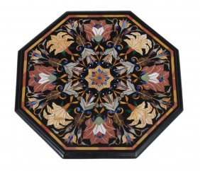 A Pietra Dure Table Top In The Manner Of 17th Century