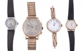 A Collection Of Wristwatches, To Include: A Swiss 18