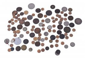 British Empire, Assorted Silver And Base Coinage,
