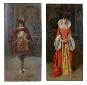 José Gallegos y Arnosa (1859-1917) - A portrait of