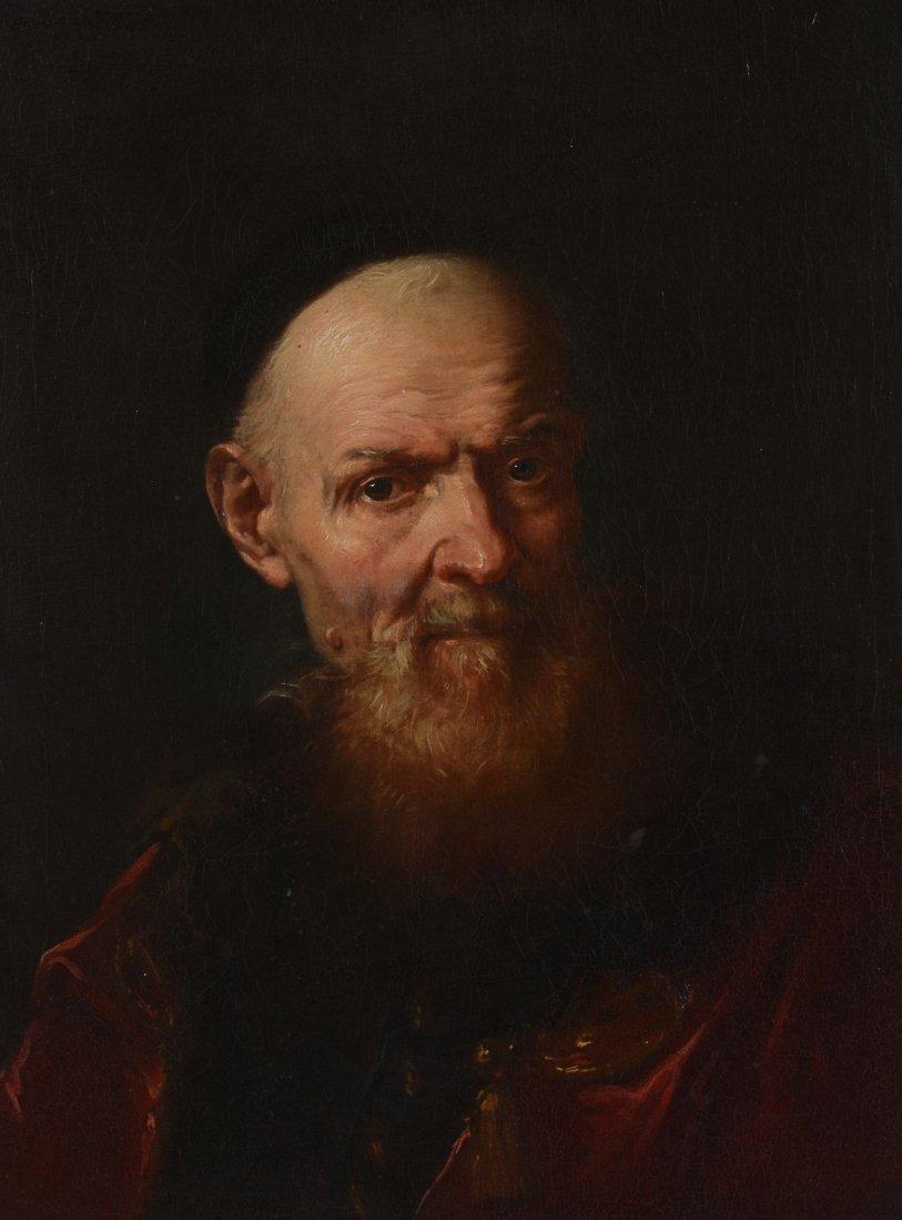 Giuseppe Nogari (1699-1766) - Old man in oriental