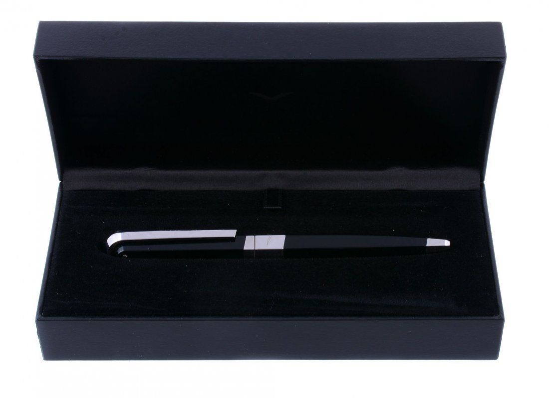 Vertu, V Collection, a black ballpoint pen, with - 3