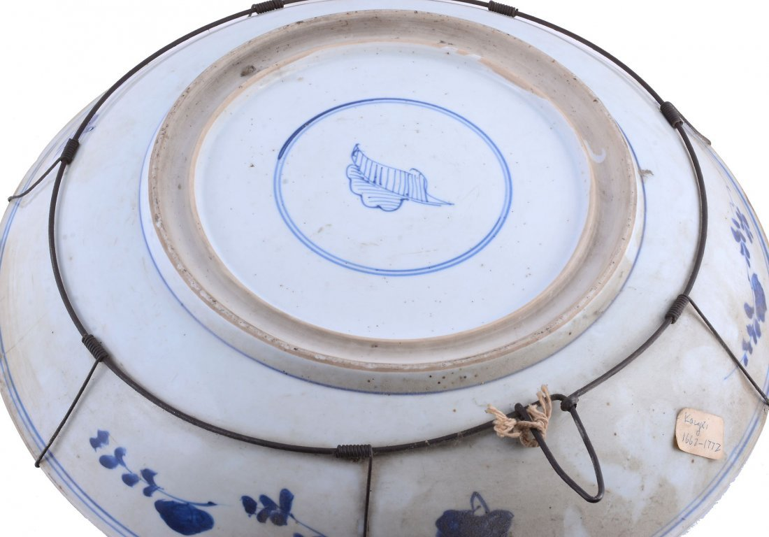 A Chinese blue and white vase , Qing Dynasty - 7