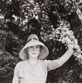 Cecil Beaton  a black and white portrait photograph of
