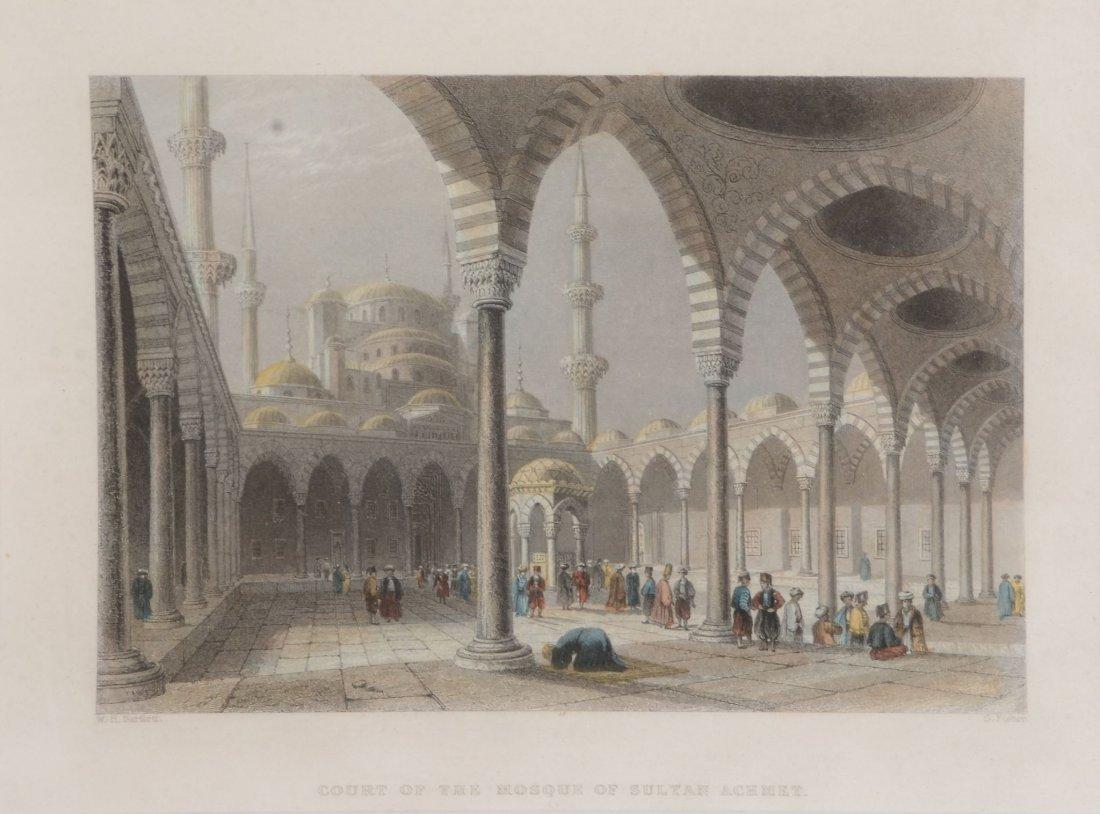 After Dubois (19th century) - Vue de Geneva;Byron's