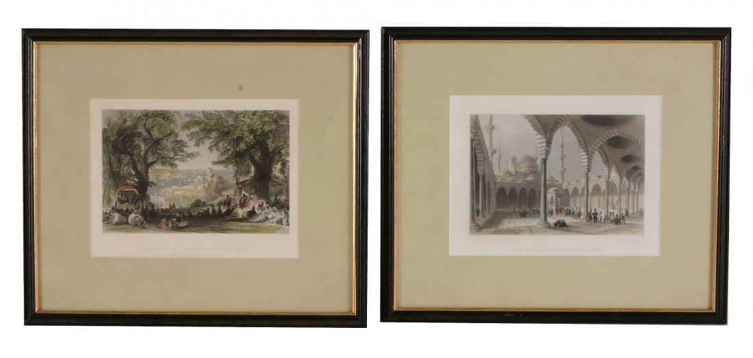 After Dubois (19th century) - Vue de Geneva;Byron's - 3