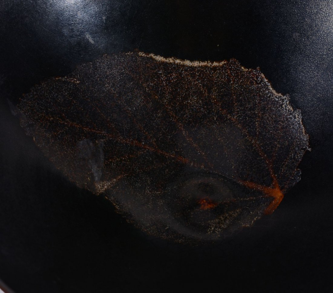 A Chinese Jizhou-style 'leaf' bowl, after a Southern - 3