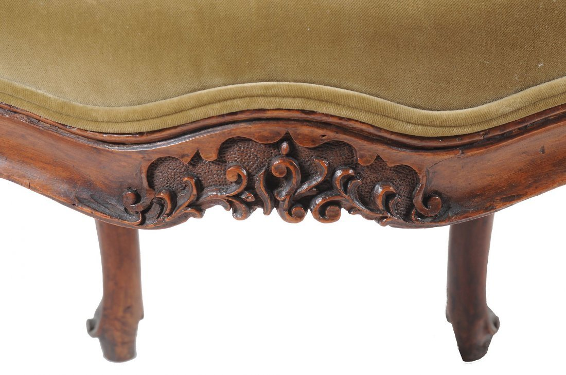 A pair of Louis XV walnut fauteuils, second half 18th - 3
