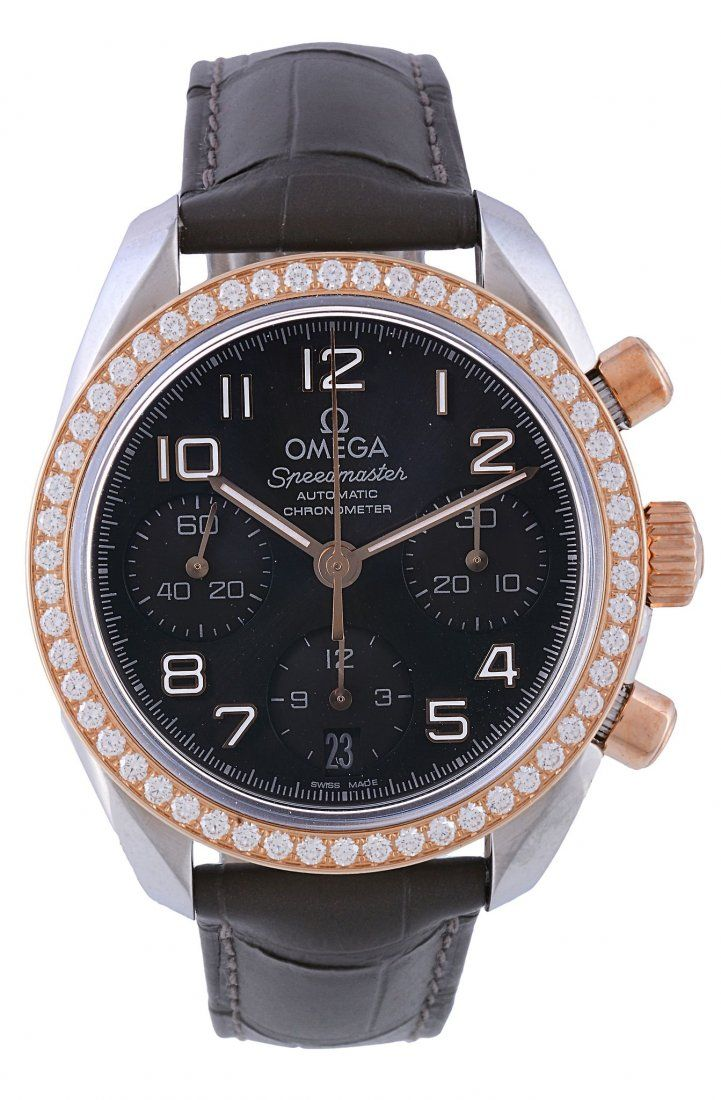 Omega, Seamaster, ref. 32428384006001, a two colour and