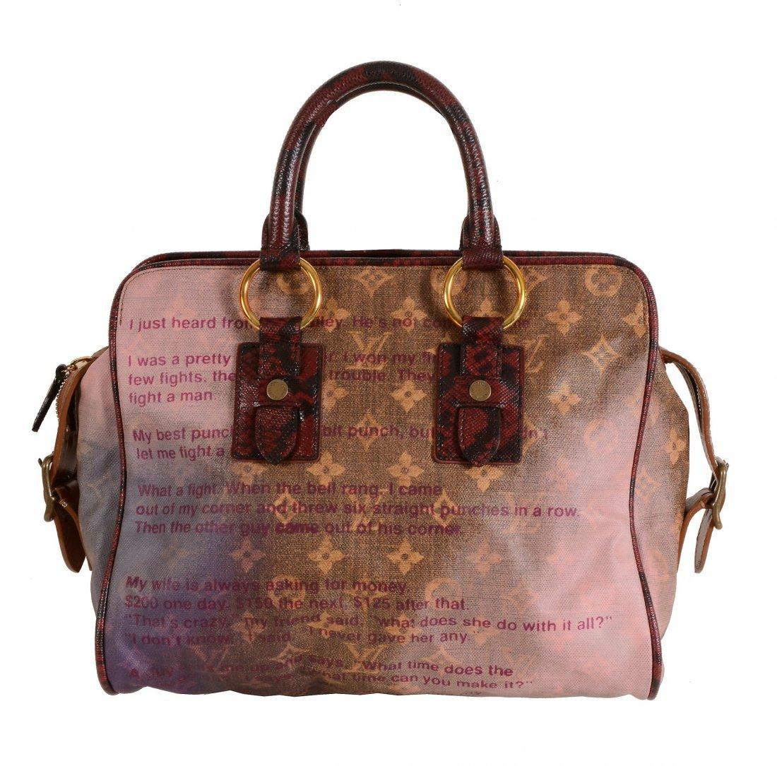 Louis Vuitton, Richard Prince, Jokes LE, a canvas and