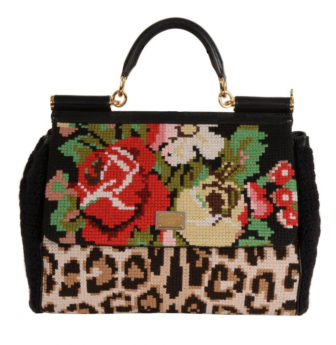 Dolce & Gabbana, Miss Sicily, Tapestry, a cross stitch