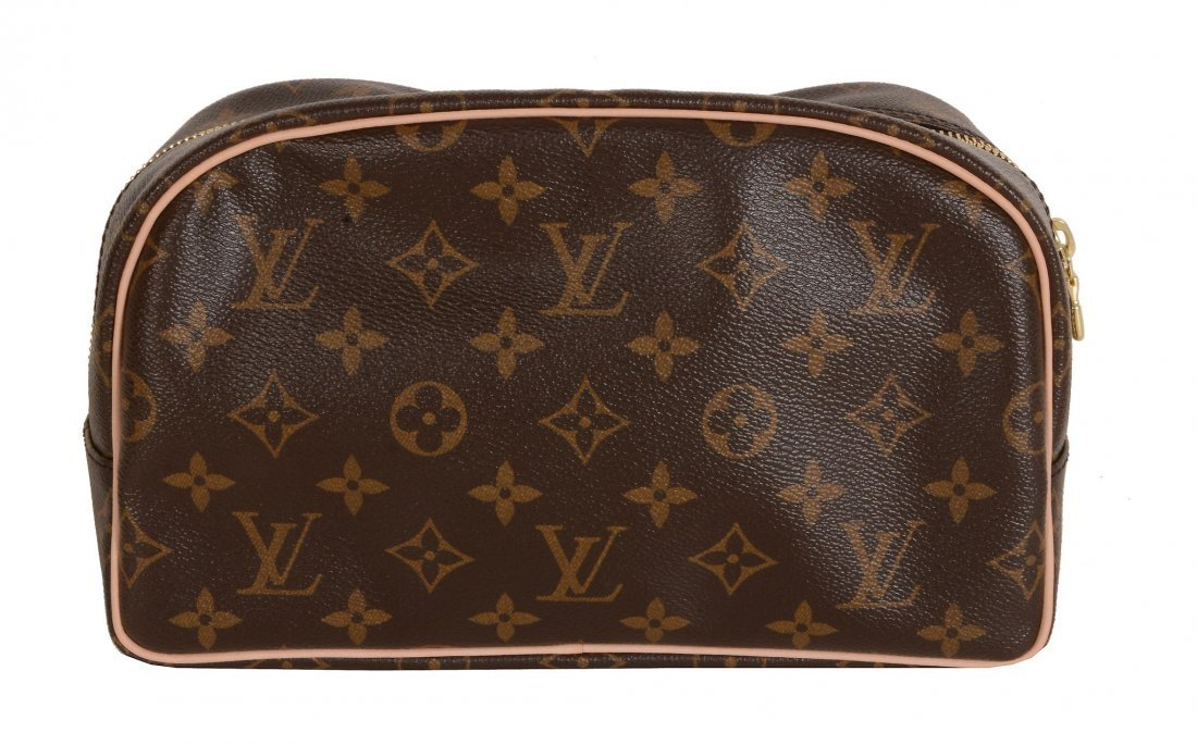 Louis Vuitton, Monogram 25, a canvas toiletry bag