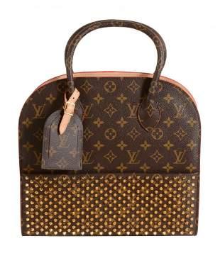 Louis Vuitton, Monogram, Christian Louboutin, a studded